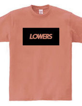 LOWERCHNL BOX AND BACK LOGO TEE