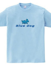 Blue Dog happy