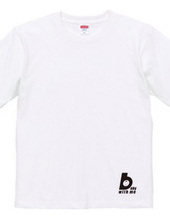 Maternity T shirt Baby with me black
