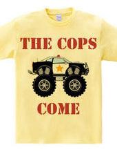 Monster Police Car