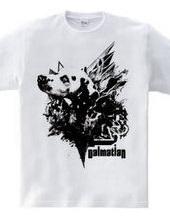 Monochrome Dalmatian