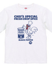 Chef recommended spice black pepper
