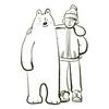 クマと仲良し
