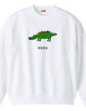 Colorful crocodile