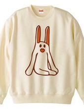 変なウサギ