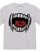 grotesque mouth