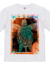 Space turtle T shirt
