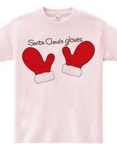 Santa Claus gloves