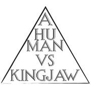 a human VS kingjaw